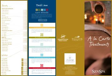 Senspa Price List 2012-2013.pdf - St.George Hotel