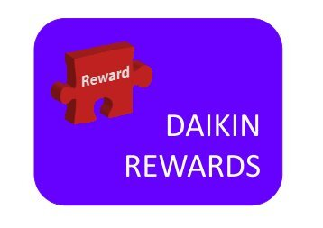 details of the benefits available at Daikin UK