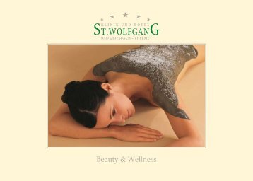 Beauty & Wellness - St. Wolfgang