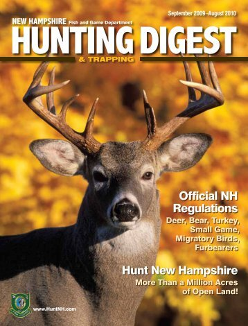 Hunt New Hampshire Official NH Regulations - New Hampshire Fish ...