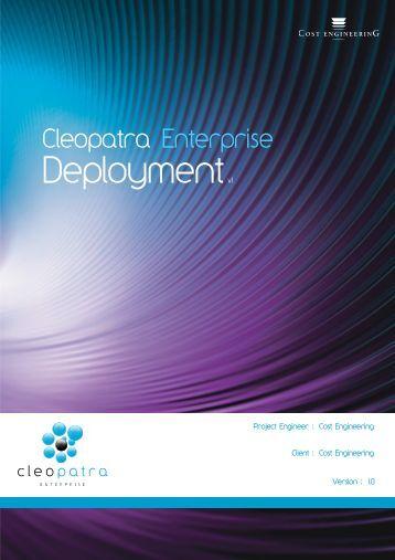 Deploymentv1 - Cost Estimating Software
