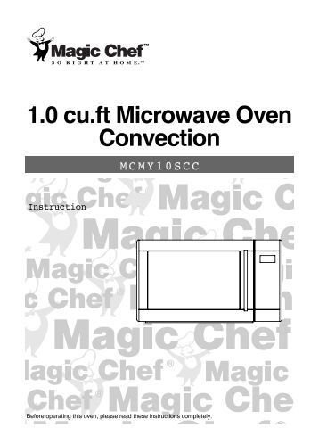 baumatic oven instruction manual