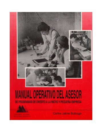 Manual Operativo Del Asesor - Center for Financial Inclusion Blog