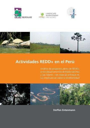 Actividades REDD+ en el Perú - The REDD Desk