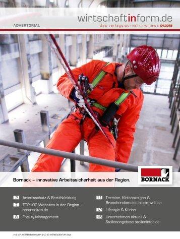 Arbeitsschutz & Berufskleidung | wirtschaftinform.de 01.2015