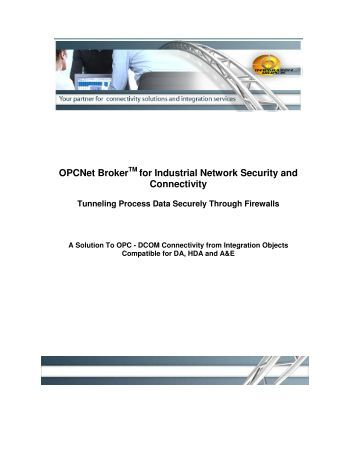 opc fundamentals implementation and application pdf