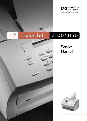 LaserJet 3100/3150 Service Manual - English - Feedroller