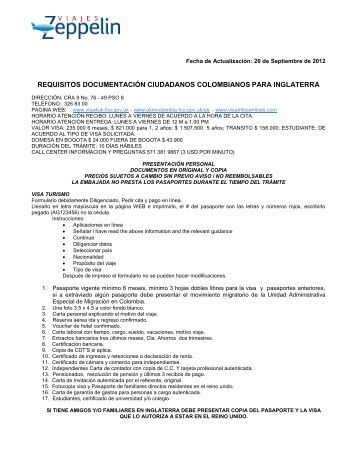 REQUISITOS DOCUMENTACION PARA
