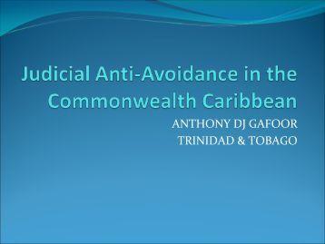 GAAR - Trinidad & Tobago - Iatj.net