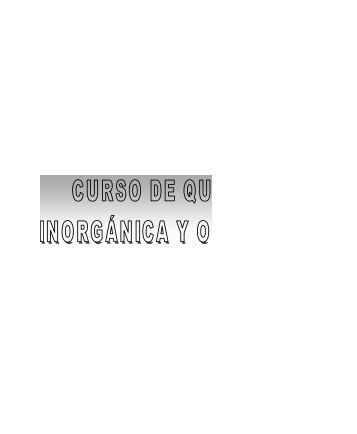 CURSO DE QUIMICA INORGANICA Y ORGANICA - Sic Editorial