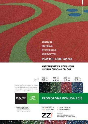 Playtop sigurnosna podloga promo ponuda za 2013. - ZZconcept