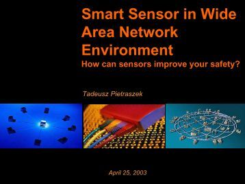 Smart Sensor in Wide Area Network Environment - The Personal ...