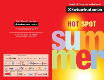 July events guide - Harbourfront Centre