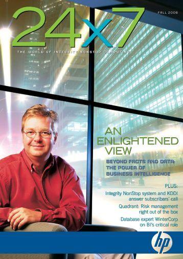 Fall 2006 - HP NonStop - Hewlett Packard