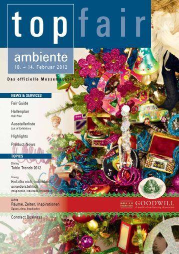 AMBIENTE 2012 - TOP FAIR