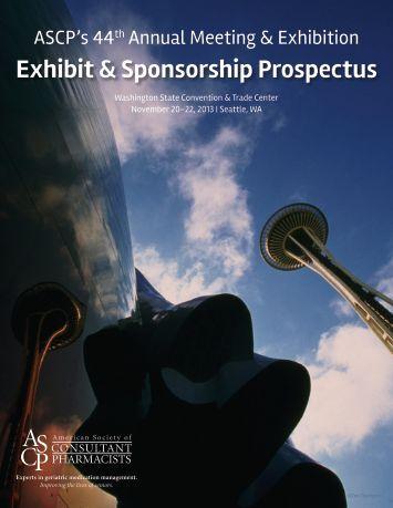 exhibitor prospectus template - sponsorship exhibition prospectus 2011 ages