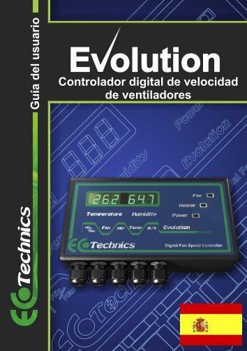 Guía del usuario Controlador digital de ... - Ecotechnics.co.uk