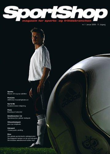 nr. 1 Januar 2006 - Danmarks Sportshandler Forening (DSF)