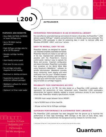 L200 datasheet - Unylogix Technologies Inc.