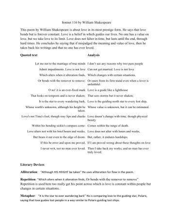 a general analysis of william shakespeares sonnets Yet the study of his nondramatic poetry can illuminate shakespeare's activities as a poet emphatically of his own age, especially in the period of extraordinary literary ferment the particular poems that were in circulation suggest that the general shape and themes of the sonnets were established from the earliest stages.
