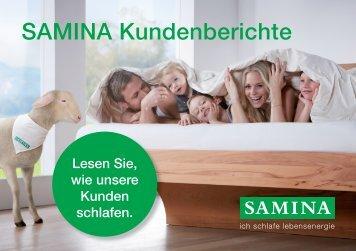 SAMINA Schlaftipps - Kundenberichte