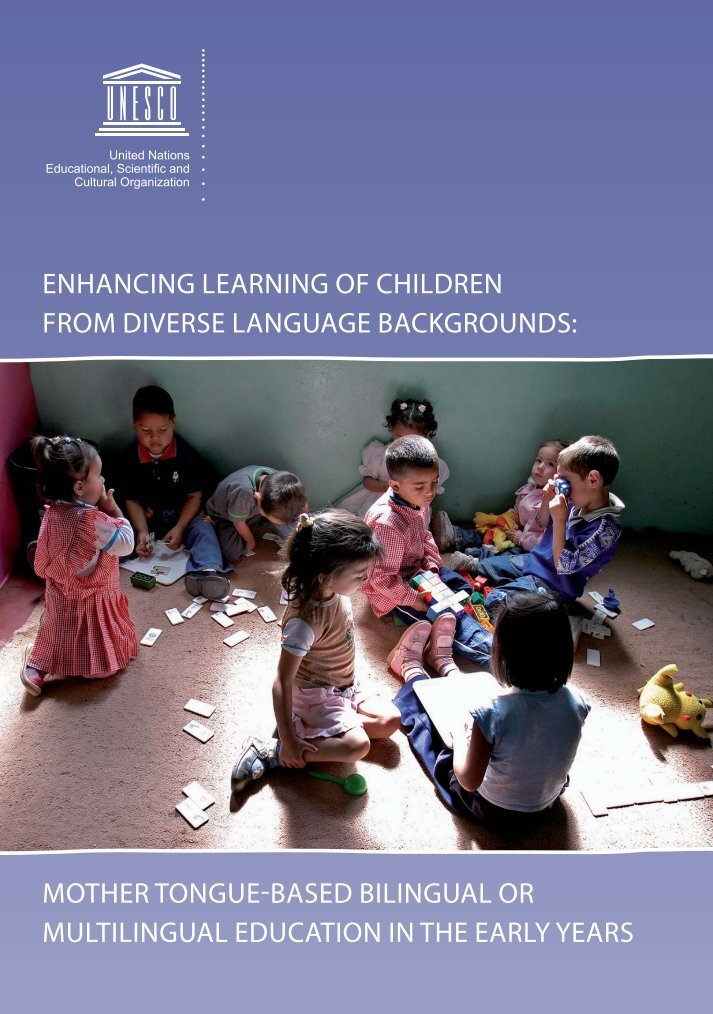 Enhancing Learning of Children from Diverse Language