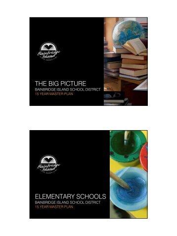 Elementary Schools - BISD Moodle - Bainbridge Island School District
