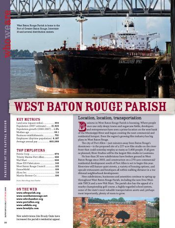 west baton rouge parish
