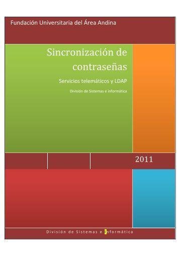 Sincronización de contraseñas - Fundación Universitaria del Área ...