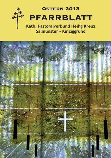 pfarrblatt pfarrblatt - Katholische Pfarrgemeinde St. Peter und Paul ...
