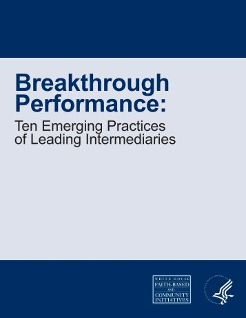 Ten Emerging Practices of Leading Intermediaries - Dare Mighty ...