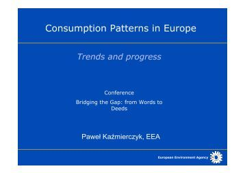 "a basis for the trends in consumption patterns Consumption patterns and which examined the asset and consumption trends of four ""identification of consumption style segments on the basis of."