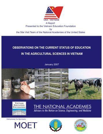 Observations - Vietnam Education Foundation