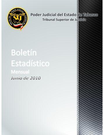 06 - Junio 2010 - Tribunal Superior de Justicia de Tabasco
