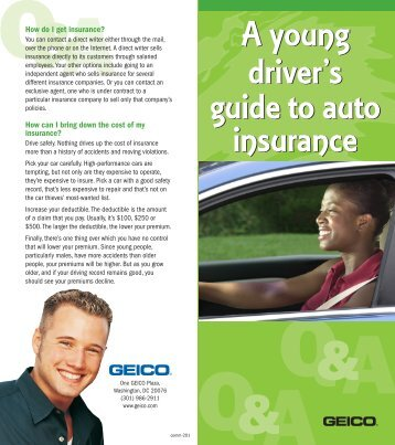 Young Drivers Guide to Auto Insurance - pdf