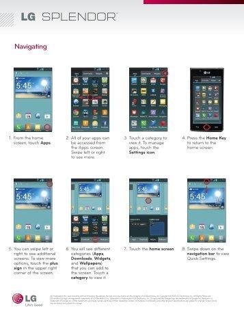 Navigating Phone - US Cellular