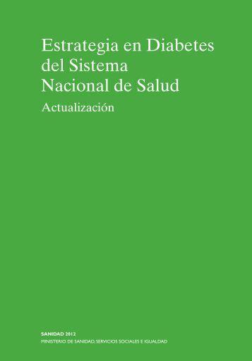 Estrategia en Diabetes del Sistema Nacional de Salud 2012