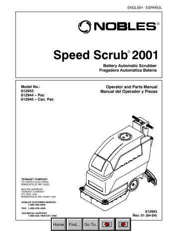 OPERATION, PARTS AND SAFETY MANUAL BXT2-19