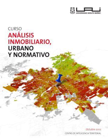 análisis inmobiliario, urbano y normativo - Universidad Adolfo Ibañez