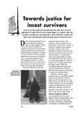 Towards Justice for Incest Survivors - ressourcesfeministes - Page 2