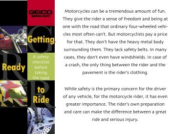 Getting Ready to Ride - pdf