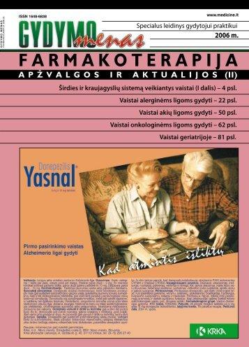 VAISTAI ALERGINÄ–MS LIGOMS GYDYTI - e-library.lt