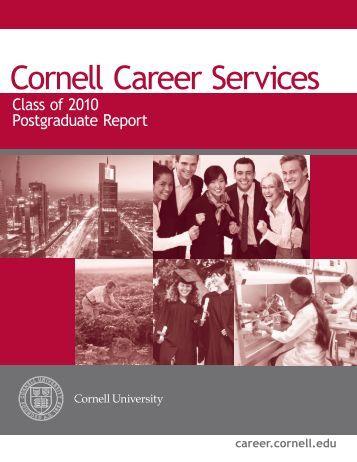 Class of 2010 Postgraduate Report - Cornell Career Services ...