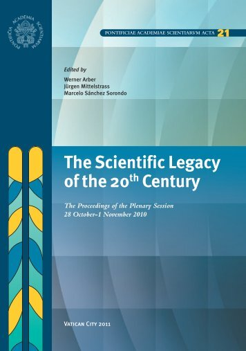 PASS Scripta Varia 21 - Pontifical Academy of Sciences