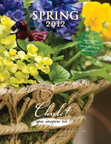 Spring 2012 - Chalet Nursery