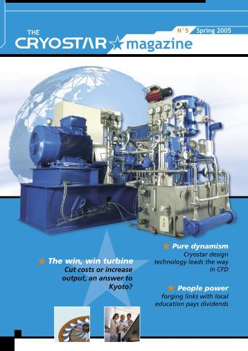 The Cryostar Magazine N°5 : pdf file