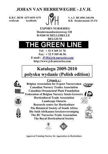 Katalogu 2009-2010 polysku wydanie (Polish edition) - JVH Nurseries