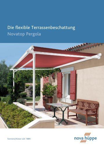 Pergola Sunrain Das Flexible Terrassendach F R