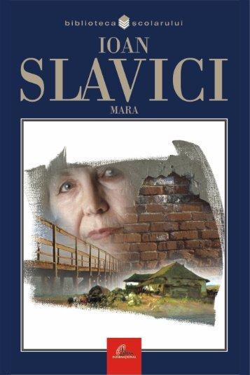 Slavici Ioan – Mara (Aprecieri) - marele boian