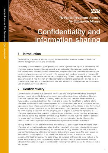 confidentiality and information sharing 10:40 am confidentiality policy 16/11/2017 1 confidentiality and information sharing policy we understand that working with children and families will sometimes.